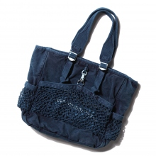 Porter Classic / ポータークラシック | CANVAS NET TOTE BAG - Blue