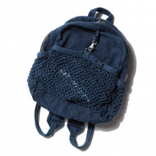 Porter Classic / ポータークラシック | CANVAS NET DAYPACK - Blue