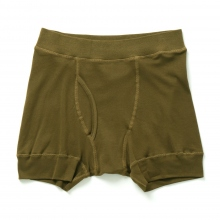 N.HOOLYWOOD / エヌハリウッド | 17-6164 BOXER BRIEFS - Earth Brown