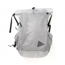 and wander / アンドワンダー | cuben fiber backpack - White
