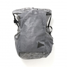 and wander / アンドワンダー | cuben fiber backpack - Black