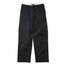 Living Concept / リビングコンセプト | COTTON CHINO PANTS - Navy