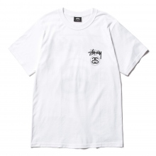 STUSSY / ステューシー | Stock Link Tee - White