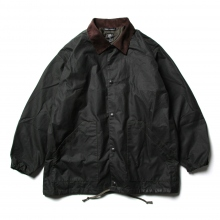 South2 West8 / サウスツーウエストエイト | Waxed Cotton Coach Jacket - Solid - Olive