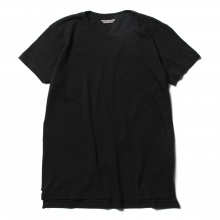 AURALEE / オーラリー | SEAMLESS CREW NECK TEE (レディース) - Black ☆