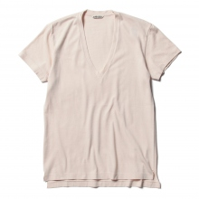AURALEE / オーラリー | SEAMLESS V-NECK TEE (レディース) - Light Pink ☆