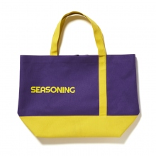 SEASONING / シーズニング | BIG TOTE BAG - Purple