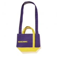 SEASONING / シーズニング | MINI TOTE BAG - Purple