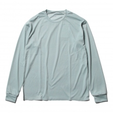 DESCENTE PAUSE / デサントポーズ | ZEROSEAM L/S T - Emerald Blue