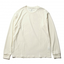 DESCENTE PAUSE / デサントポーズ | ZEROSEAM L/S T - White