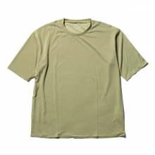 DESCENTE PAUSE / デサントポーズ | ZEROSEAM BIG T - Beige