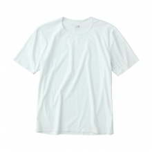 THE NORTH FACE / ザ ノース フェイス | Tech Lounge S/S Tee - White