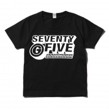 GOODENOUGH FOR KIDS / グッドイナフ フォー キッズ | PRINT TEE - LOGO2 (KIDS) - Black