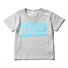 GOODENOUGH FOR KIDS / グッドイナフ フォー キッズ | PRINT TEE - LOGO2 (KIDS) - Grey