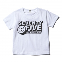 GOODENOUGH FOR KIDS / グッドイナフ フォー キッズ | PRINT TEE - LOGO2 (KIDS) - White