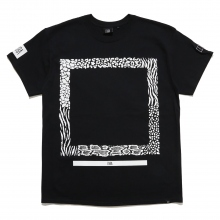 ELVIRA / エルビラ | ANIMAL FRAME T-SHIRT - Black