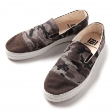 MACCHERONIAN / マカロニアン | 4001SK CAPTOE SLIP-ON SHOES - Camo