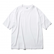 DESCENTE PAUSE / デサントポーズ | HALF SLEEVE T-SHIRT - White