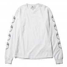 HABANOS / ハバノス | MILITARY PRINT L/SL Tee (NORMAL) - White