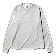 HABANOS / ハバノス | MILITARY PRINT L/SL Tee (NORMAL) - Gray