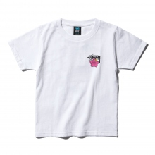 STUSSY / ステューシー | Kids Cali Rose Tee - White ★