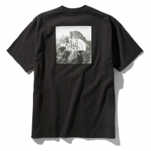 THE NORTH FACE / ザ ノース フェイス | S/S Pictured Square Logo Tee - K ブラック