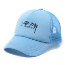 STUSSY / ステューシー | Kids Smooth Stock Trucker Cap - Blue ★