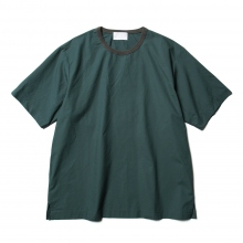 URU / ウル | CREW NECK S/S TEE / COTTON TYPEWRITER - Green