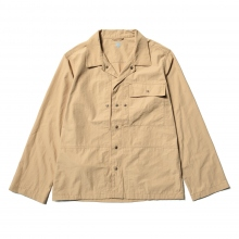 DESCENTE PAUSE / デサントポーズ | UTILITY SHIRT - Beige