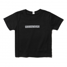 GOODENOUGH FOR KIDS / グッドイナフ フォー キッズ | PRINT TEE - LOGO1 (KIDS) - Black-A