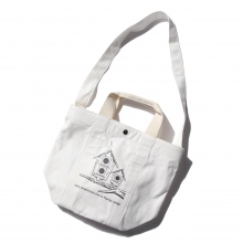 ....... RESEARCH | Shoulder Tote 親子鳥 - White