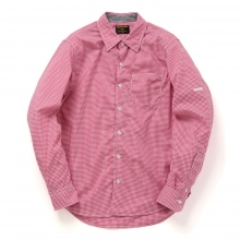 METAPHORE / メタファー | GINGHAM CHECK SHIRTS - Red