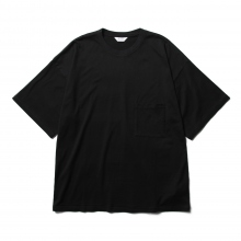 WELLDER / ウェルダー | Wide Fit Pocket T-Shirts Recipe For Mustard Pickles Print - Black