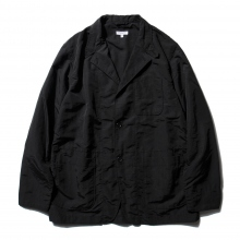 ENGINEERED GARMENTS / エンジニアドガーメンツ | Loiter Jacket - 4-Ply Nylon Taslan - Black