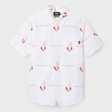 STUSSY / ステューシー | Good From Any Angle Shirt - White