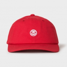 STUSSY / ステューシー | Contrast Strap Cap - Red