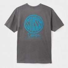 STUSSY / ステューシー | Design Corp. Pigment Dyed Tee - Black