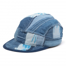 Porter Classic / ポータークラシック | H/W CIVIL RIGHTS BLUE BASEBALL CAP - Blue