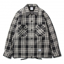 BEDWIN / ベドウィン | HEAVY FLANNEL CHECK JACKET 「KAY」 - Black