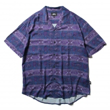 STUSSY / ステューシー | Baroque Shirt - Navy