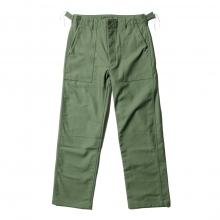 ENGINEERED GARMENTS | EG Workaday Fatigue Pant - Cotton Reversed Sateen - Olive