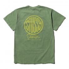 STUSSY / ステューシー | Design Corp. Pigment Dyed Tee - Olive
