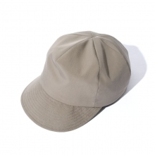 UNIVERSAL PRODUCTS / ユニバーサルプロダクツ | NINE TAILOR 6 PANNEL CAP - Khaki