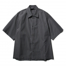 th / ティーエイチ | Short Sleeve Shirt - Stripe
