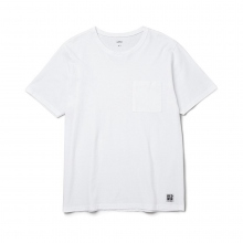 BEDWIN / ベドウィン | S/S C-NECK POCKET T 「JACK」 - White