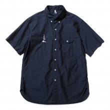 ....... RESEARCH | B.D. S/S - Cotton broad - Navy