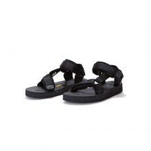 hobo / ホーボー | Suede Leather Piping Strap Sandal by SUICOKE