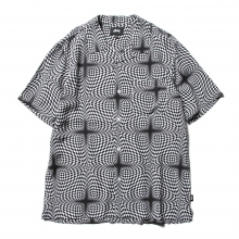 STUSSY / ステューシー | Psychedelic Checker Shirt - White