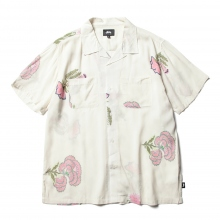 STUSSY / ステューシー | Hana Printed Shirt - White