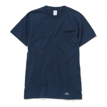 UNIVERSAL PRODUCTS / ユニバーサルプロダクツ | VELVA SHEEN 2PACK T-SHIRTS - Navy